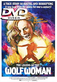 The Legend of the Wolf Woman DVD